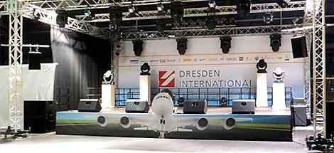 Bayer Events Dresden - Bühnenbau